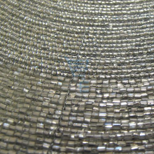 silver glass bead placemats set of 4 handmade dining