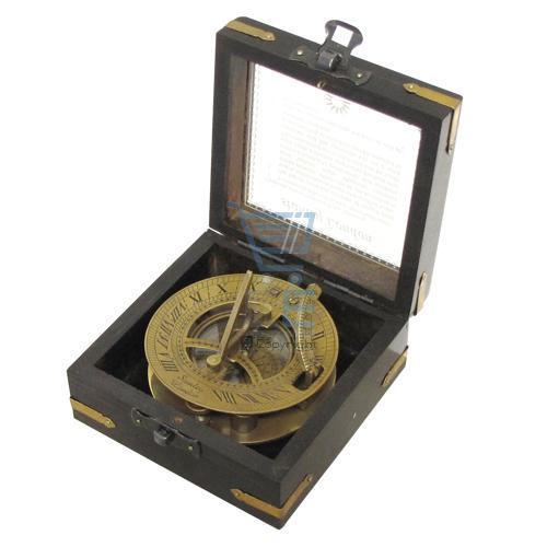 stanley london messing sonnenuhr kompass in h lzern h lle reproduktion ebay. Black Bedroom Furniture Sets. Home Design Ideas