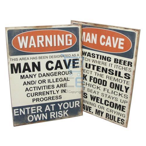 Man Cave Novelty Items : Man cave novelty sign designs garage shed dad gift