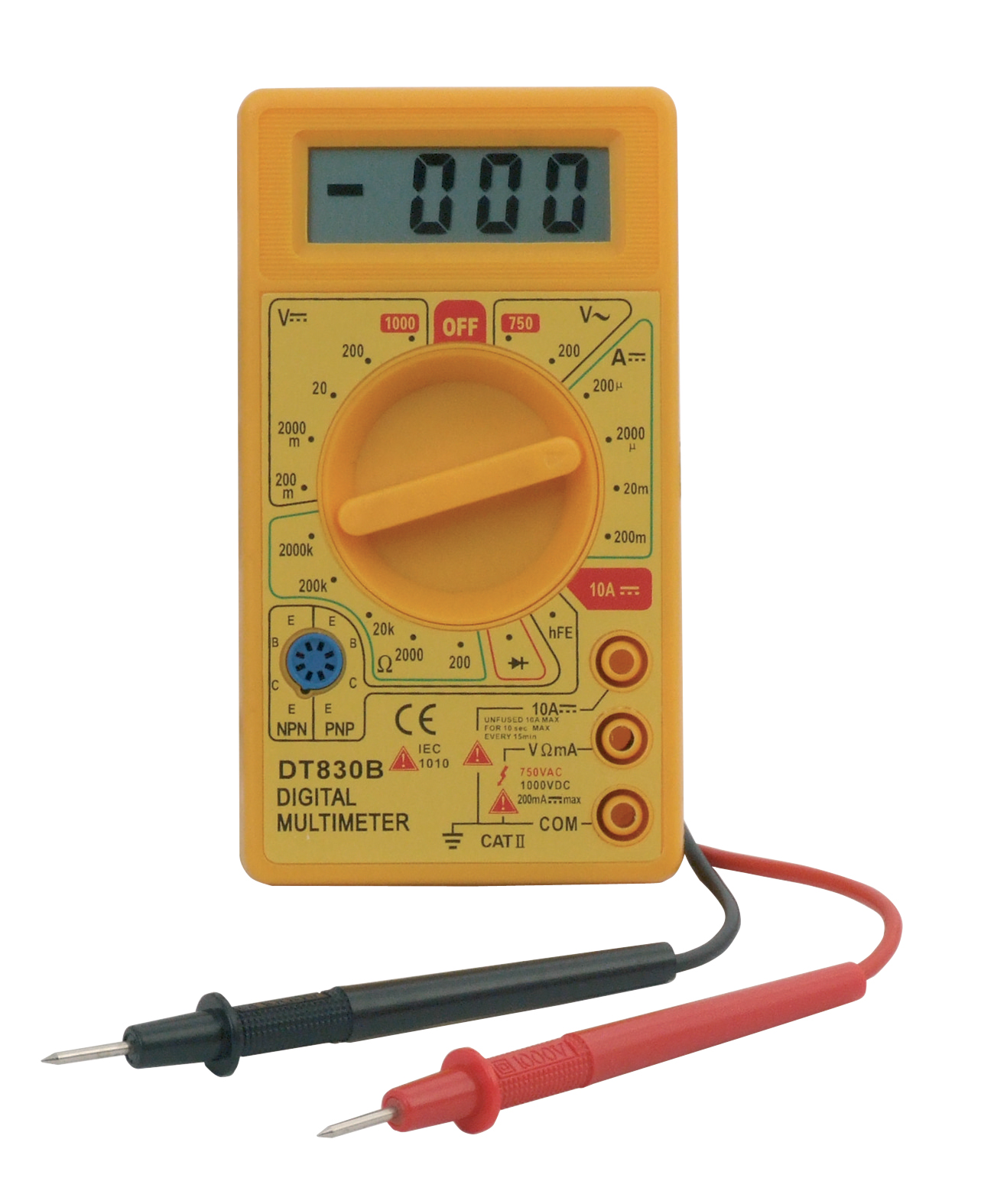 digital multimeter electrical circuit tester 9v battery ebay