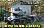 View Item 1/16 Bulldog M41 Radio Controlled RC Tank Pro Version