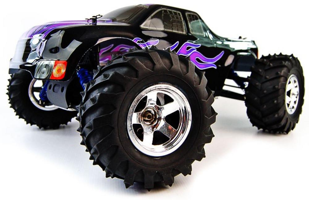 1/10 Conquistador Nitro Radio Controlled RC Monster Truck Preview