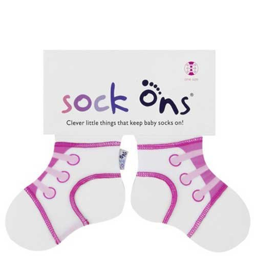 SOCK ONS KEEP BABY SOCKS ON FEET BRAND NEW ALL SIZES