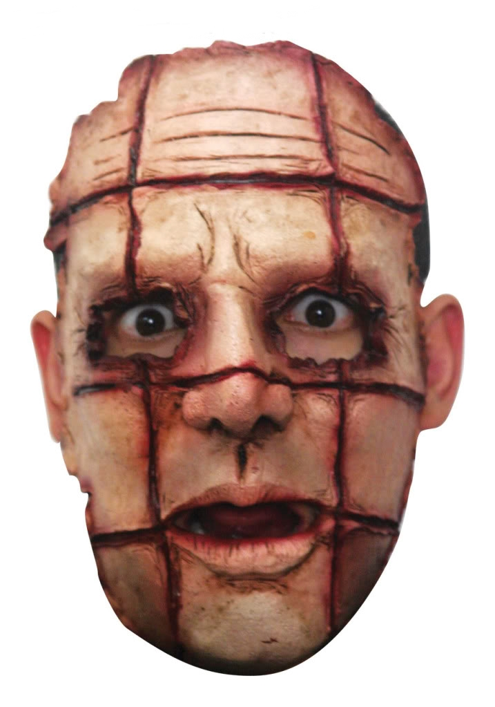 Scary Halloween Latex Face Mask Face Mask Serial Killer Enlarged Preview