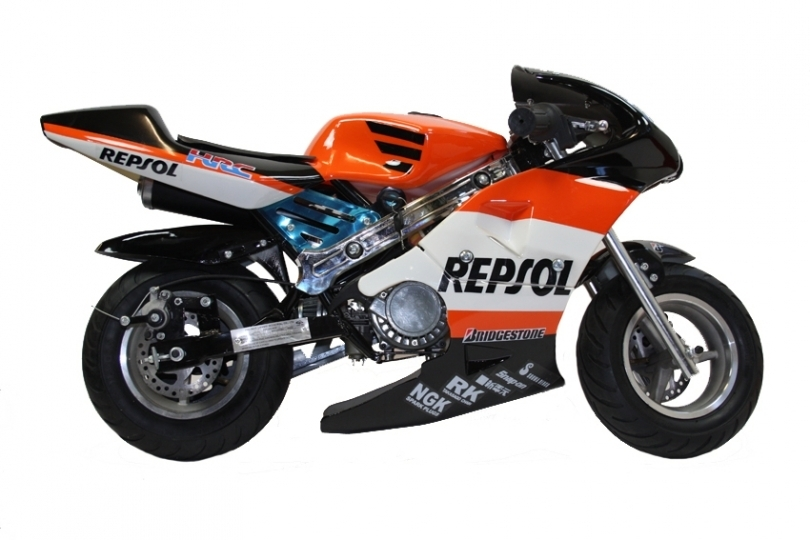 new 50cc mini moto repsol honda design replica motorbike xmas gift ebay. Black Bedroom Furniture Sets. Home Design Ideas