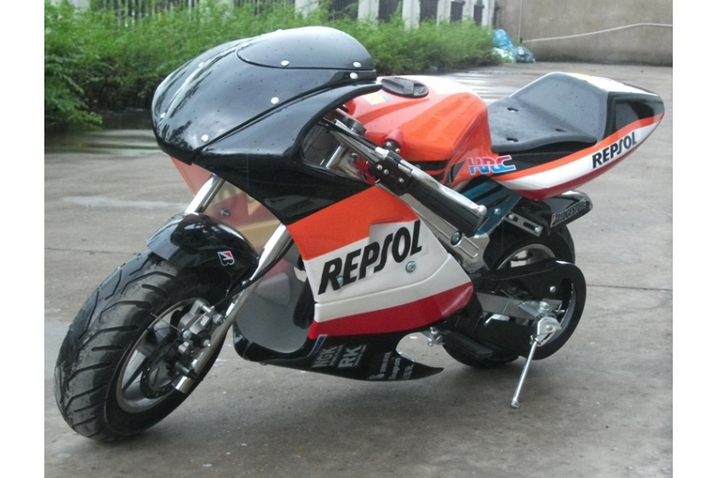 new 50cc mini moto repsol honda design replica motorbike. Black Bedroom Furniture Sets. Home Design Ideas