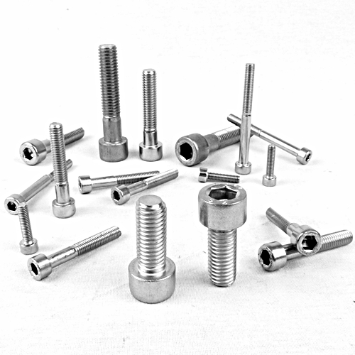M6 X 40 S STAINLESS STEEL CAPHEAD SCREW BOLTS SOCKET CAP CAPS  - 5 PACK