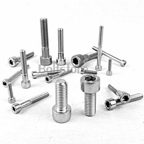 M10 X 35 STAINLESS STEEL CAPHEAD SCREW BOLTS SOCKET CAP CAPS  - 20 PACK