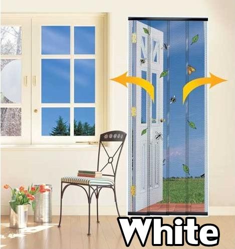 New door insect fly curtain screen patio indoor outdoor ebay for Indoor screen door