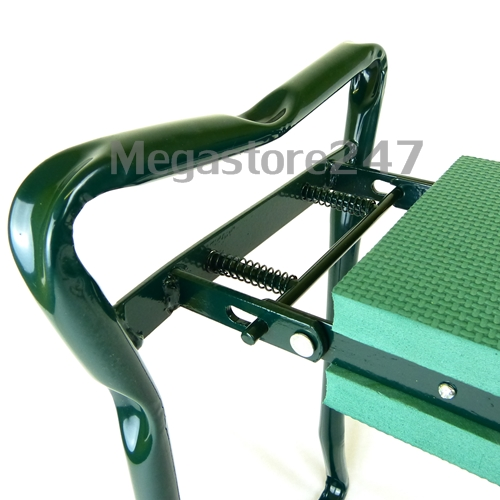 New portable garden kneeler seat cushion folding padded for Gardening kneeling stool