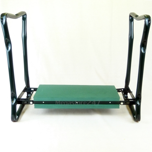 NEW PORTABLE GARDEN KNEELER SEAT CUSHION FOLDING PADDED GARDENING