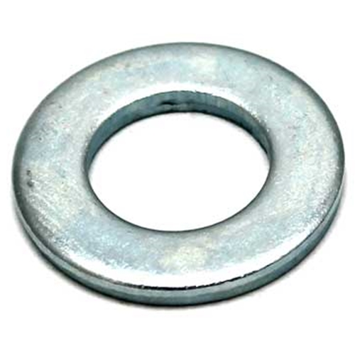 50 PACK M16 /16MM FLAT WASHER BRIGHT ZINC PLATED BZP FREE P&P
