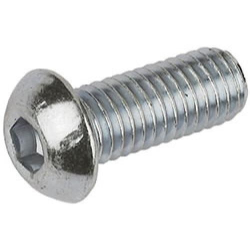 M6 6mm A2 Stainless Steel Button Head Allen Cap Socket
