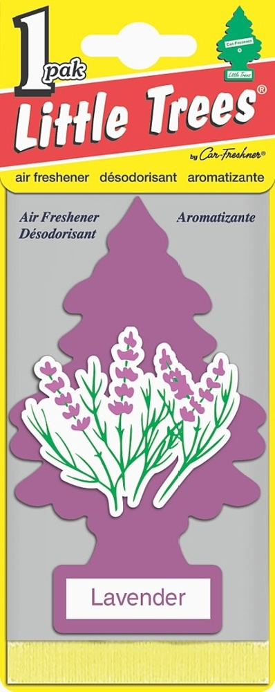 MAGIC TREE *LAVENDER* AIR FRESHENER 5 PACK CAR/VAN/HOME Enlarged Preview