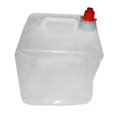 Garrafa agua portatil plegable camping contenedor caravana - Contenedor de agua ...