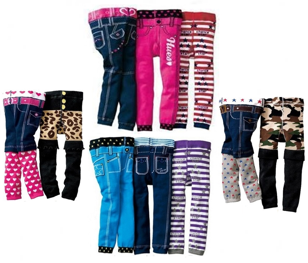 Image is loading BABY-TODDLER-CHILD-FUNKY-LEGGING-JEGGING-TROUSERS-PANTS- - BABY TODDLER CHILD FUNKY LEGGING / JEGGING TROUSERS PANTS LEG