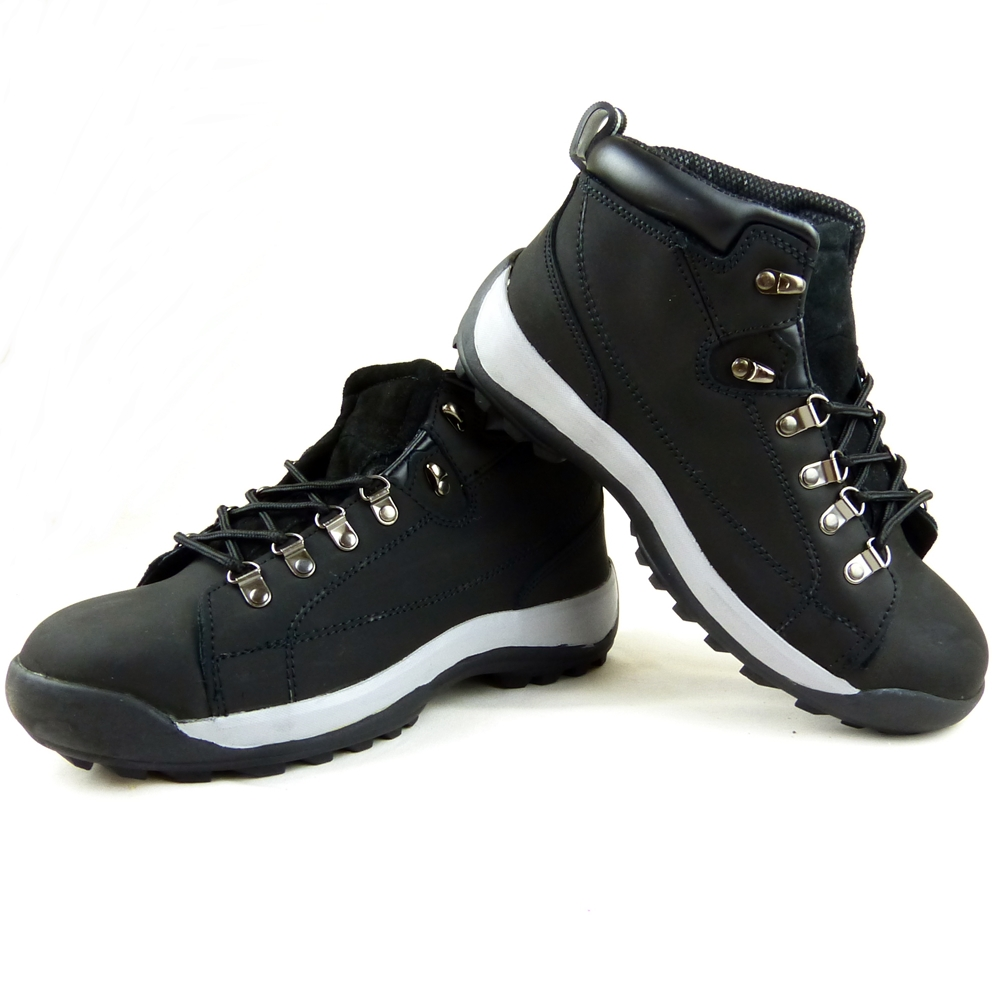 Details about Safety Steel Toe Cap Work Boots Shoes Men Trainers Black