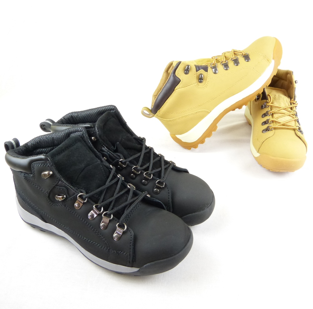 Safety Steel Toe Cap Work Boots Shoes Men Trainers Black or Honey ...