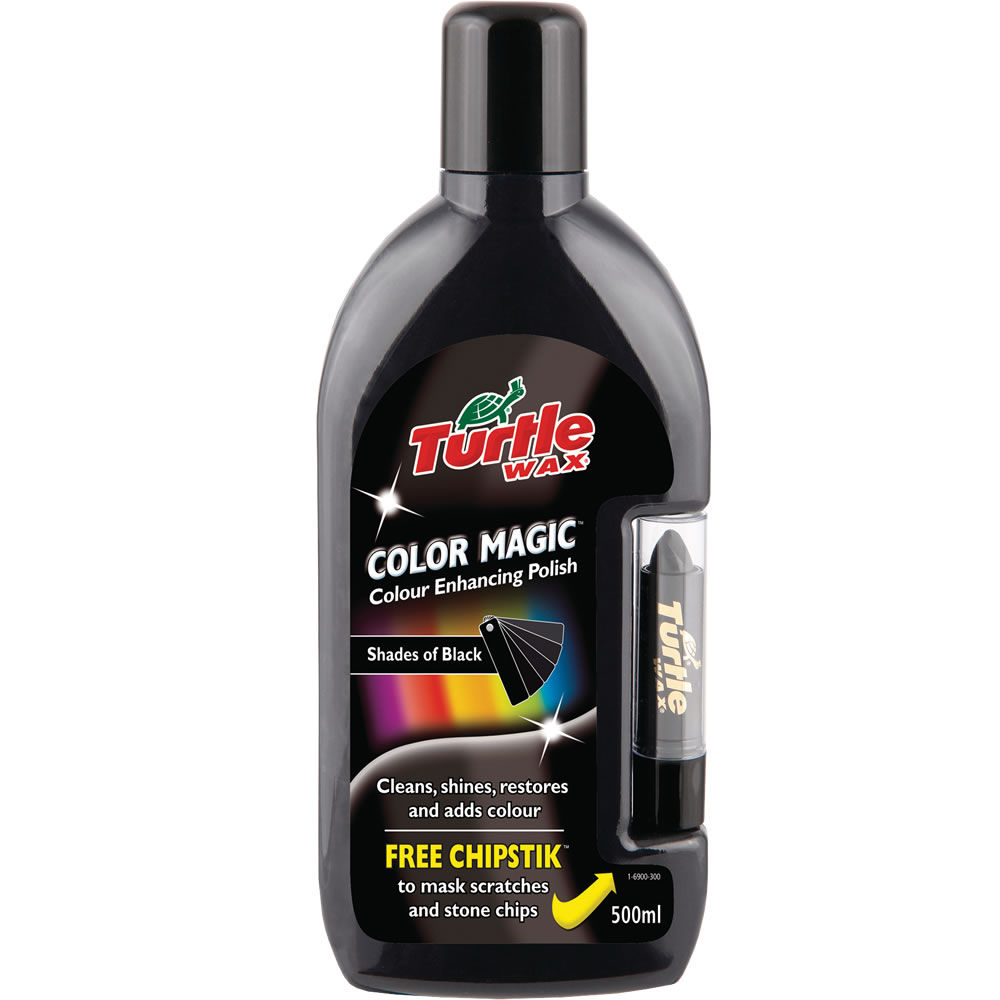 Turtle Wax Color Magic Black