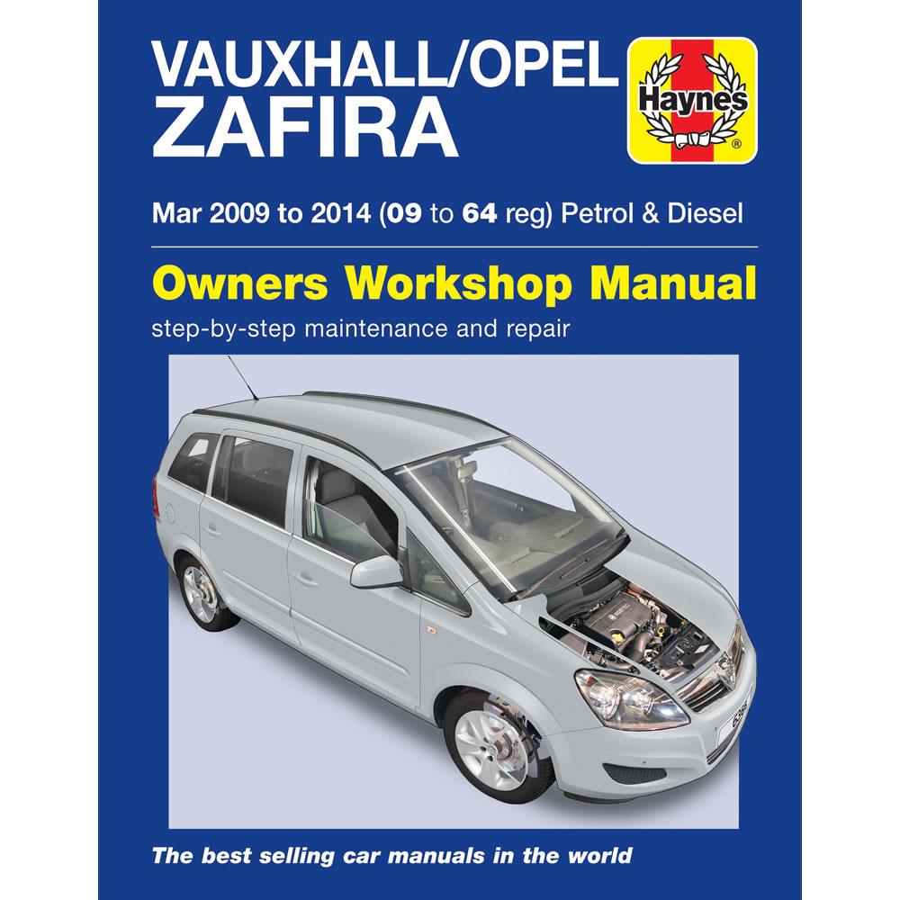 vauxhall opel zafira 1 6 1 8 petrol 1 7 1 9 diesel 2009 14. Black Bedroom Furniture Sets. Home Design Ideas