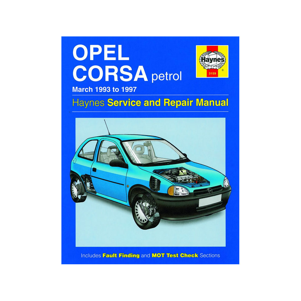 opel corsa 1.4 i workshop manual