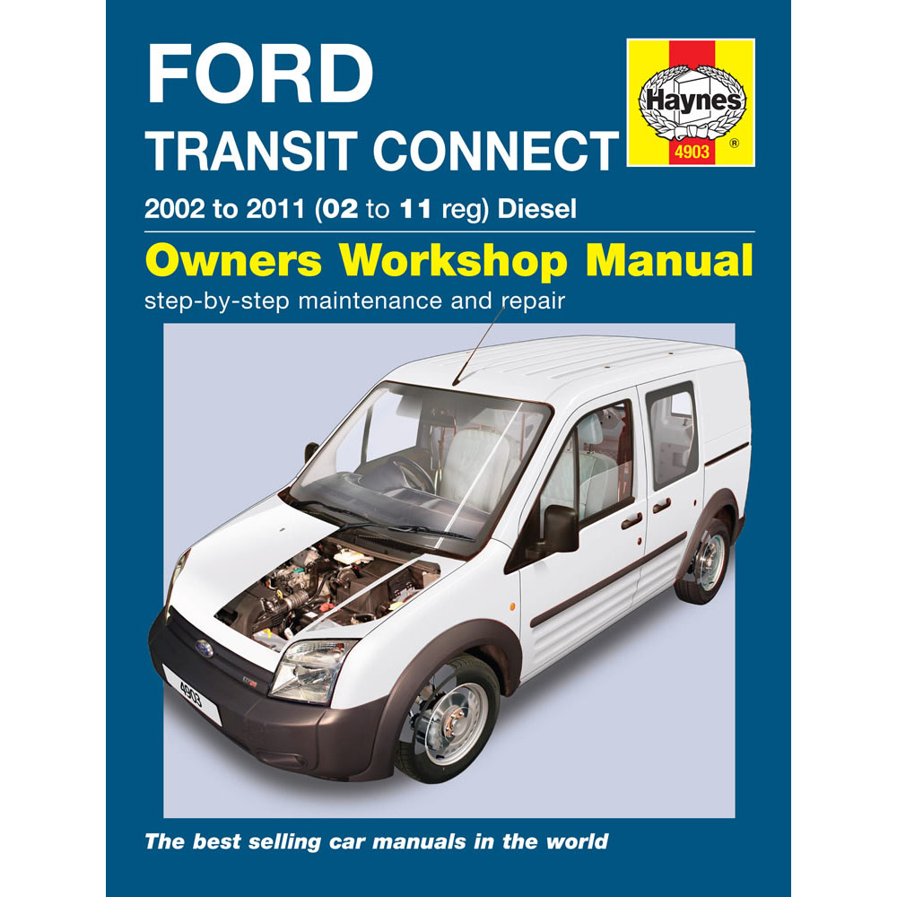 52 Ford Transit Connect 1 8td Swb: [4903] Ford Transit Connect 1.8 Diesel 2002-11 (02 To 11