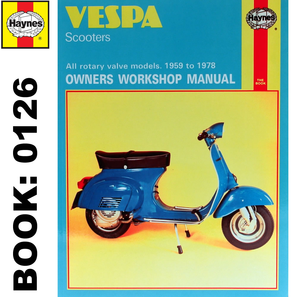 Vespa Scooters Haynes Repair Manual Ktfreemix border=