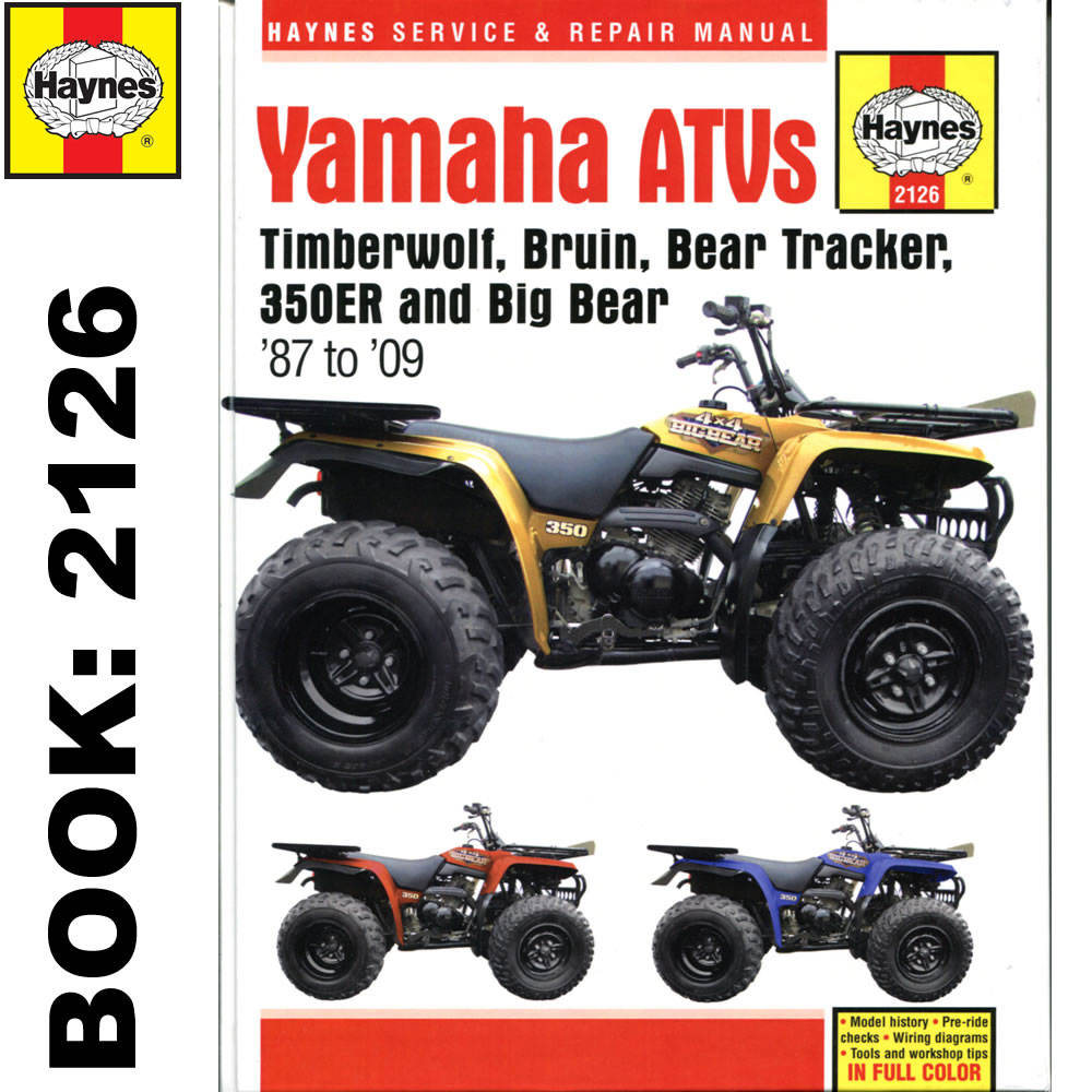 Yamaha Bruin  Service Manual
