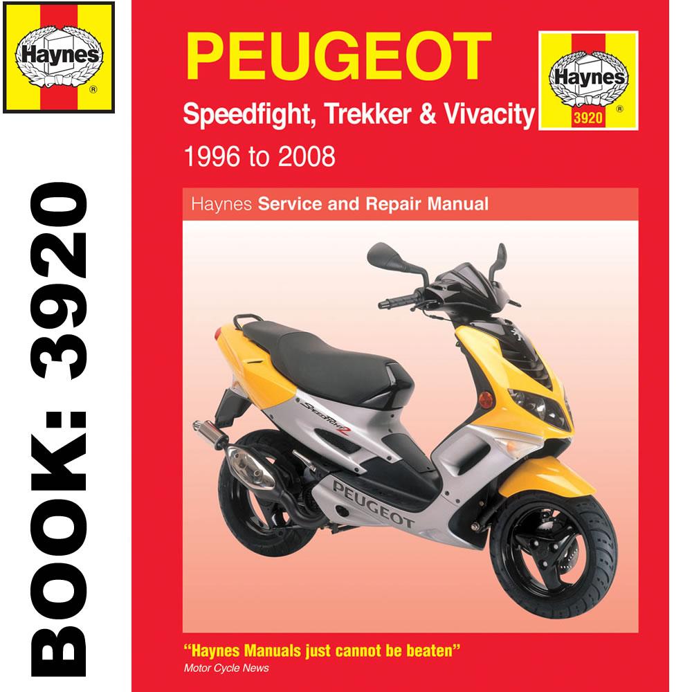 Peugeot Speedfight Trekker Vivacity Scooters 1996 2008