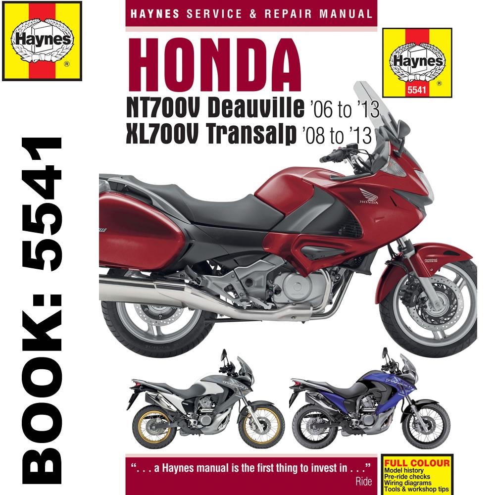Honda NT700V Deauville XL700V Transalp 2006-13 Haynes .