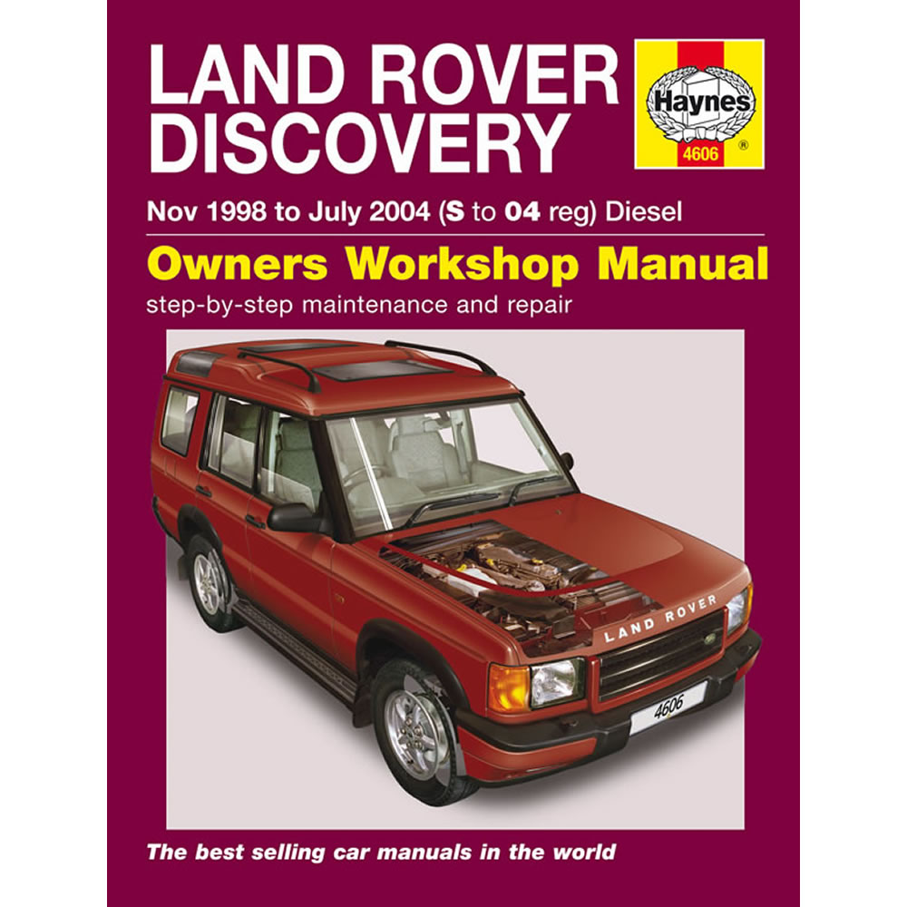 Land Rover Discovery 2.5 Diesel 1998-04 (S To 04 Reg