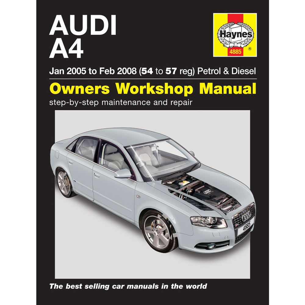 Audi A4 1.8 2.0 Petrol 1.9 2.0 Turbo Diesel 05-08 (54-57