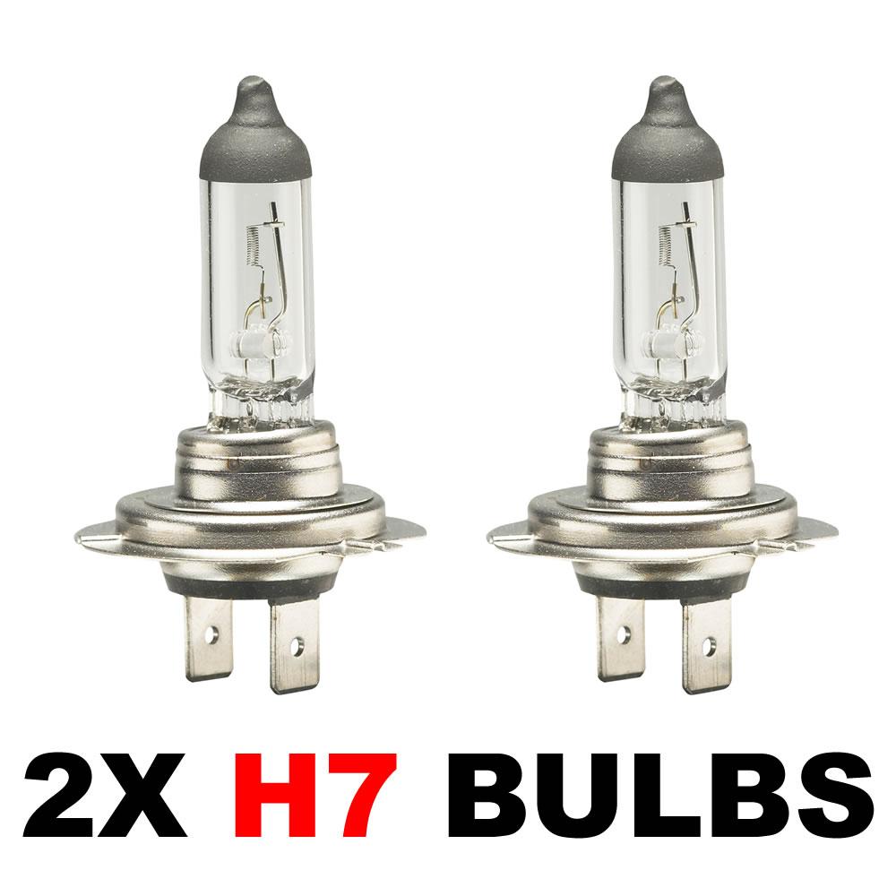 2 x brand new h7 499 headlamp headlight car bulbs 12v 55w. Black Bedroom Furniture Sets. Home Design Ideas