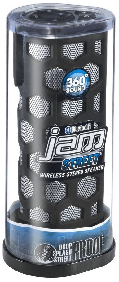 Hmdx Jam Street Rugged Wireless Bluetooth Speaker Black