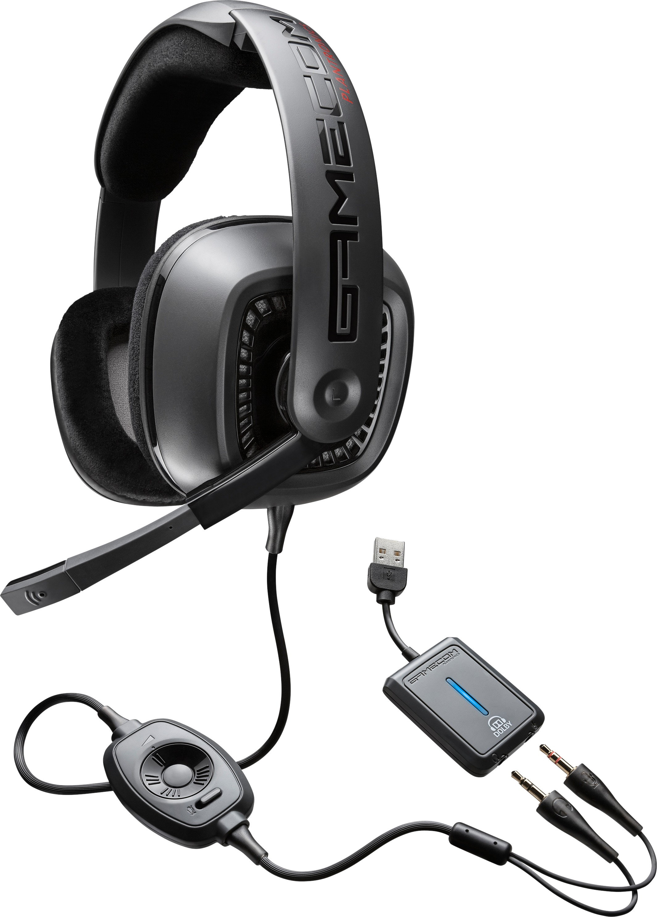 plantronics gamecom 777 7 1 dolby surround sound kopfh rer. Black Bedroom Furniture Sets. Home Design Ideas