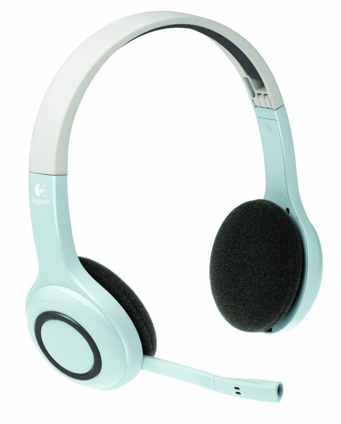 logitech wireless bluetooth kopfh rer mit mikrofon headset f r ipad iphone ebay. Black Bedroom Furniture Sets. Home Design Ideas