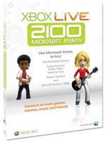 View Item 2100 Microsoft Points in New Paperform (Xbox 360)