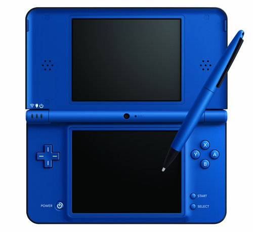 Nintendo DSi XL Handheld Console (Blue) Enlarged Preview