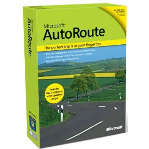 Microsoft Autoroute Europe 2011 (PC) Enlarged Preview