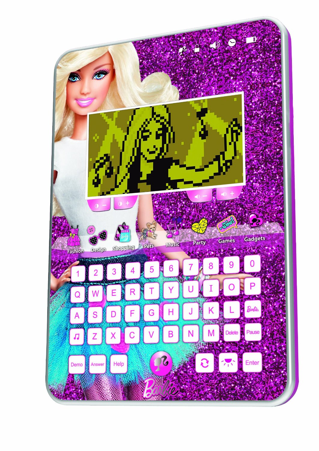 Oregon scientific barbie fashion tablet pink 32