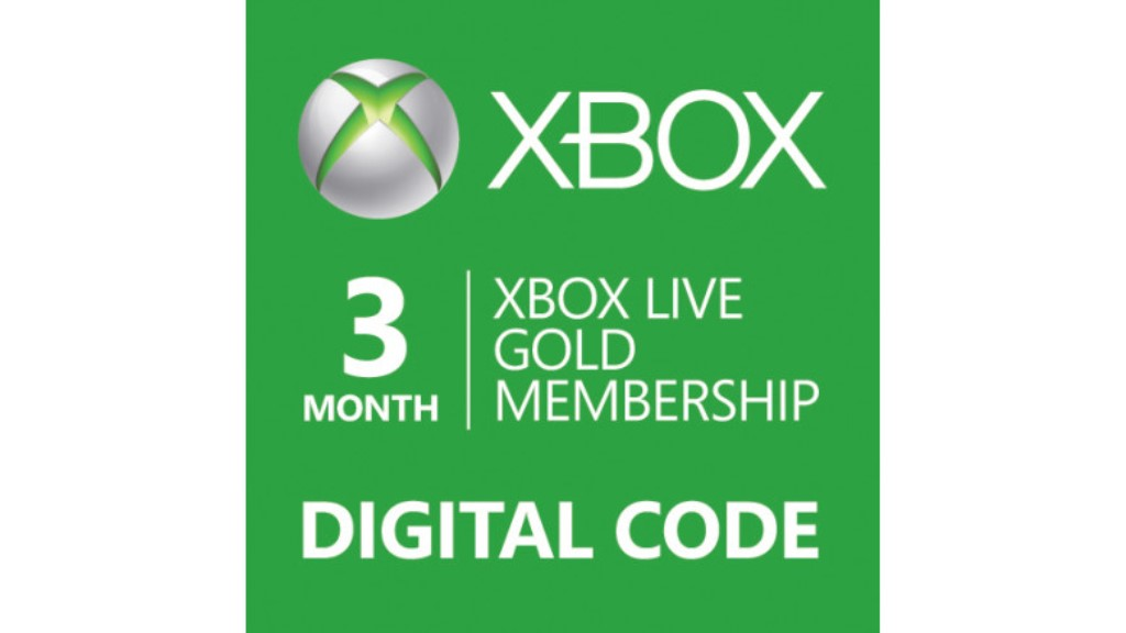 xbox live 3 month gold membership digital download code ebay