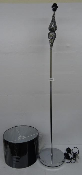 Heart of House Eloise Crackle Floor Lamp - Black RRP £49.99 lot ...