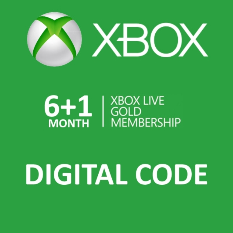 Xbox Live 6 1 7 Months Gold Membership Digital Download Code | eBay