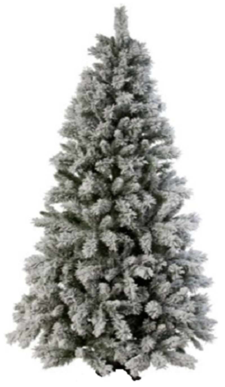 Green Snow Covered Christmas Tree - 6ft. RRP £99.99 lot NIMBGD