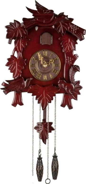 Wooden Cuckoo Pendulum Wall Clock Rrp Lot Mrwsgs Ebay