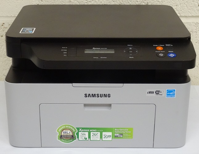 samsung xpress sl m2070w wi fi mono laser printer rrp lot b1826 8806085760899 ebay. Black Bedroom Furniture Sets. Home Design Ideas