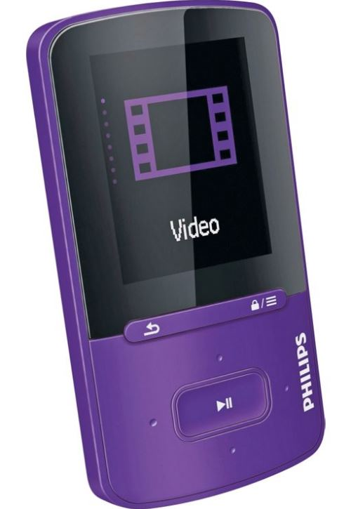 philips sa4vbe04vn12 gogear vibe 4gb mp4 player purple rrp. Black Bedroom Furniture Sets. Home Design Ideas
