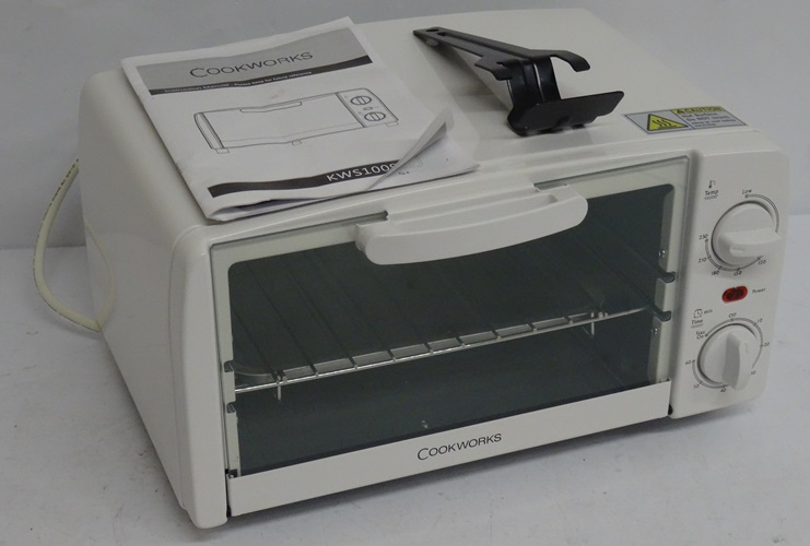 Cookworks Toaster Oven White Rrp Lot B2925 2445261