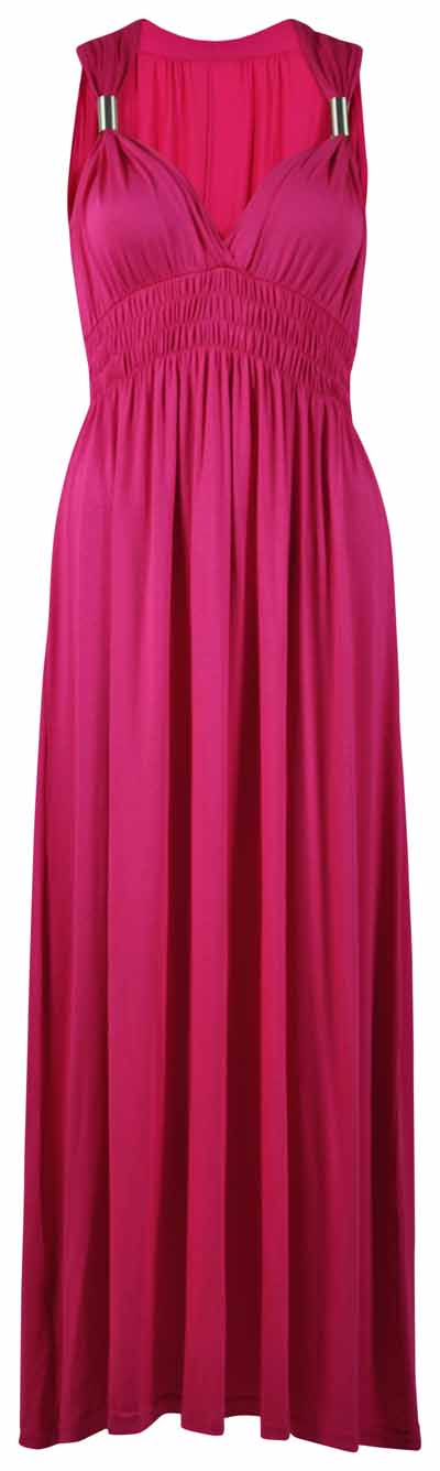 NEW-LADIES-LONG-STRETCH-WOMENS-MAXI-DRESS-SIZE-8-16