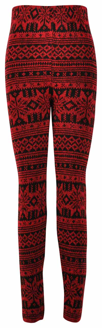 Knit Leggings Pattern : NEW LADIES PATTERN KNITTED WINTER THICK WOMENS STRETCH ...